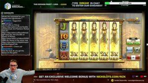 NickSlots Queen of Riches Vorschau Wild Feature