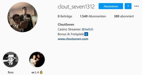 Clout Seven Instagram