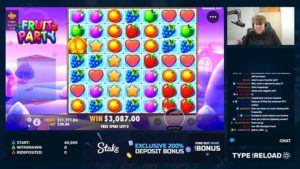 FossyGFX Fruit Party Slot