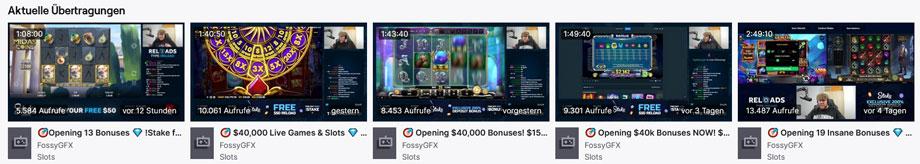 FossyGFX Twitch Casino Streams