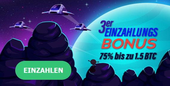 mBit Bonus dritte Einzahlung
