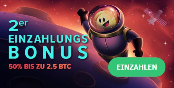 mBit Bonus zweite Einzahlung