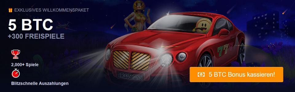 mBit Casino Bonus Banner
