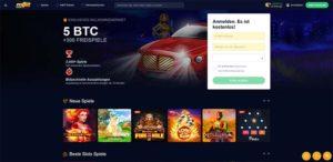 mBit Casino Vorschau Start
