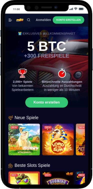 mbit mobile casino
