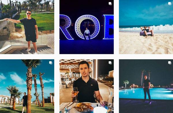 Vorschau von Fotos auf Bibaboys Instagram