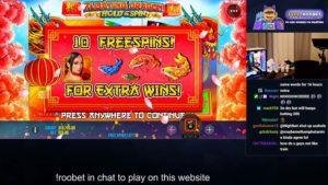 Vorschau m0E_tv spielt den Floating Dragon Slot.