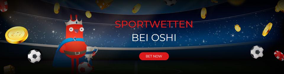 Banner zu den Oshi Sportwetten