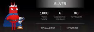 Überblick über das Oshi.io VIP Paket Silver