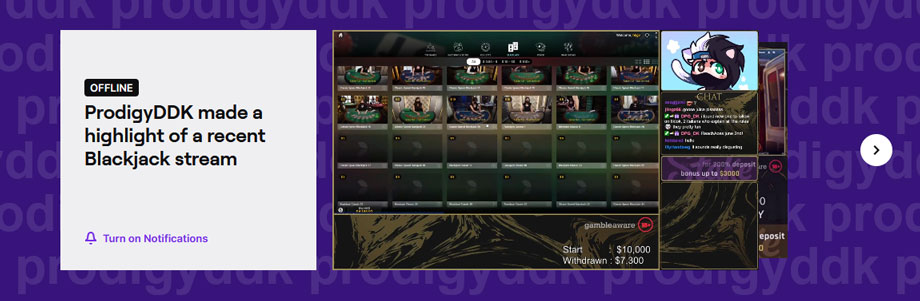 ProdigyDDK offline Bild auf Twitch