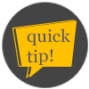 Quick Tip Icon