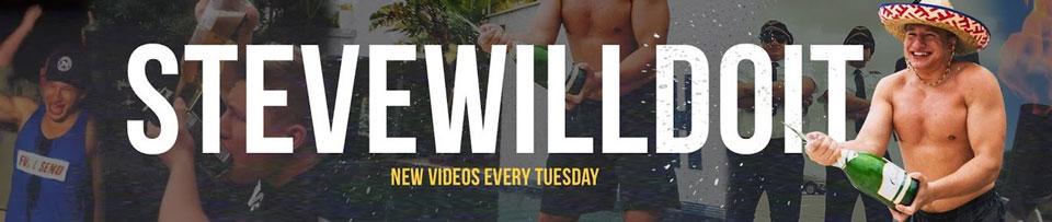 SteveWillDoIt Youtube Banner