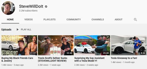 SteveWillDoIt Youtube