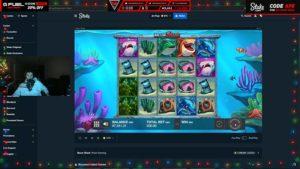 Vorschaubild von TrainwrecksTV wie er Razor Shark spielt.