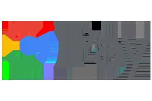 Das Logo der Gamdom Zahlungsmethode Google Pay