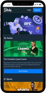 Stake Casino mobile