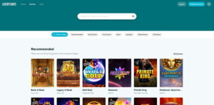 Lucky Days Casino Recommended Games