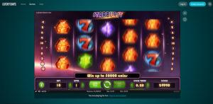 Lucky Days Casino Starburst