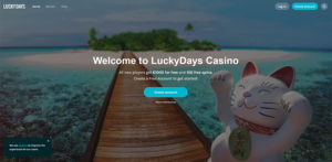 Lucky Days Casino Welcome