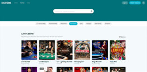 Lucky Days Live Casino Games
