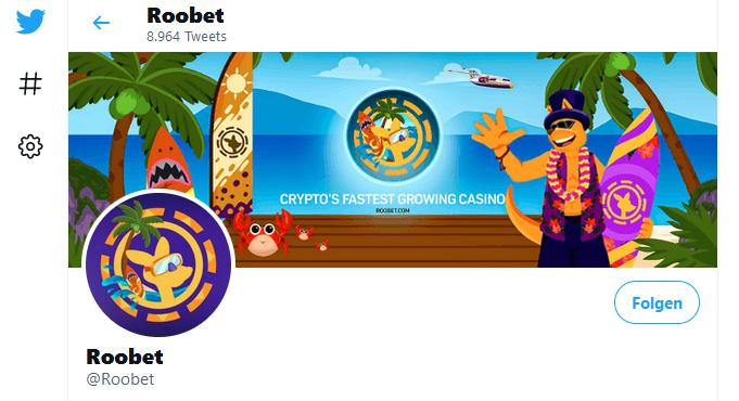 Roobet Casino Twitter