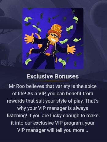 Roobet Casino VIP Club Bonuses