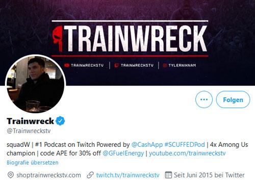 TrainwrecksTV Twitter