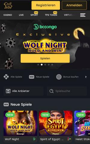 Fairspin mobile Casino