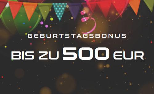 Fairspin Geburtstags Bonus