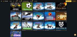 Fairspin Vorschau virtueller Sport