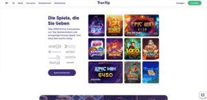 TrueFlip Vorschau Games