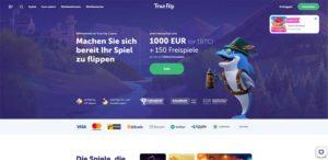 TrueFlip Vorschau Startseite