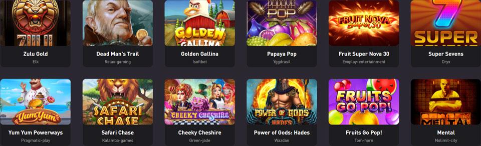 Rocketpot NEO Games