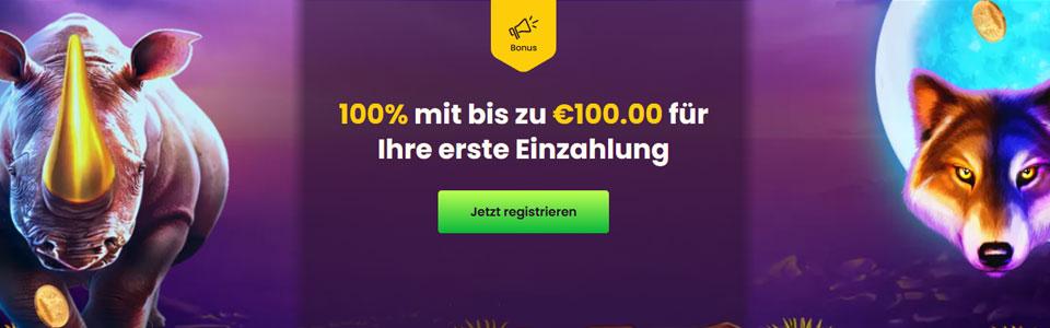 Bizzo Casino Bonus Banner